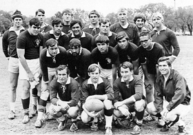 1970 First Full TAMU Rugby Team